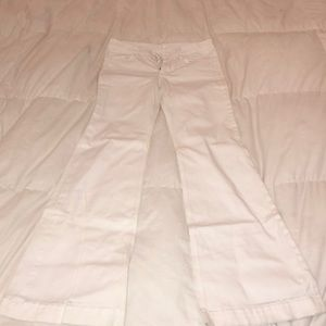 7 for all Mankind Ginger White Jeans